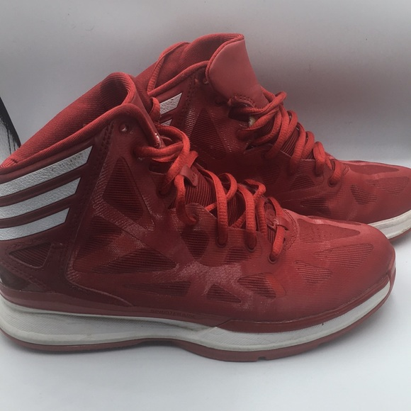 Terminal Mezclado Milímetro  adidas Shoes | Adidas Sprintframe Sprint Web Red Basketball Shoes | Poshmark